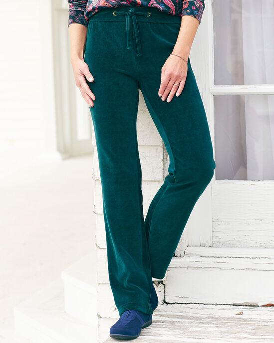 Velour Pull-on Pants