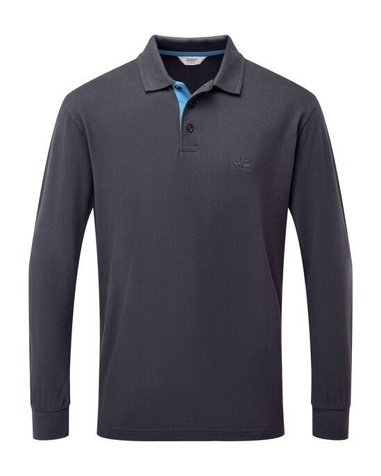 Long Sleeve Polo Shirt