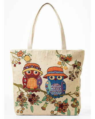 Embroidery Shopper Bag