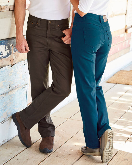 Women's Colored Stretch Jeans
