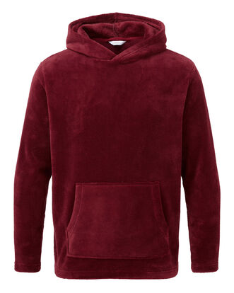 Fleece Hooded Lounge Top