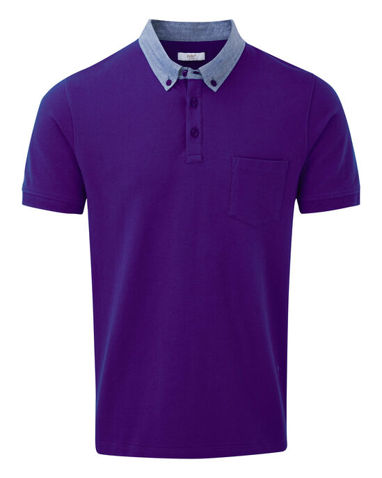 Stretch Pique Polo Shirt