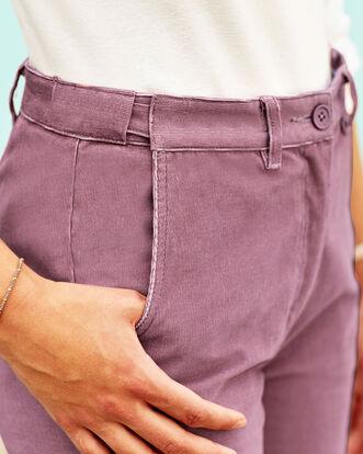 Adjustable Waist Cord Pants