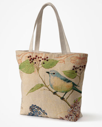 Embroidery Shopper Bag