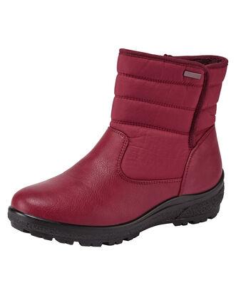 Cozy Comfort Zip Boots