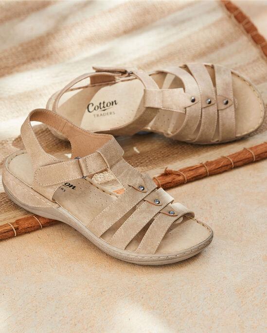 Adjustable T-Bar Sandals