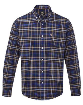 Guinness Long Sleeve Oxford Check Shirt
