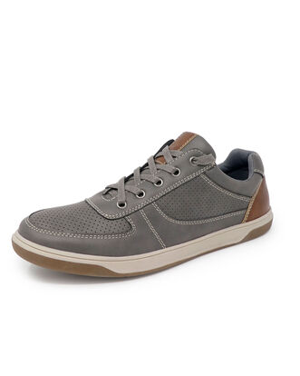 Cushioned Lace-up Sneakers