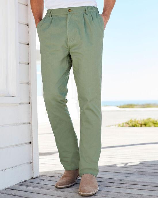 Pleat Front Comfort Pants