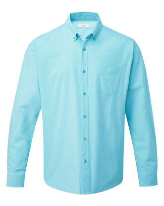 Soft Turquoise Long Sleeve Classic Oxford Shirt