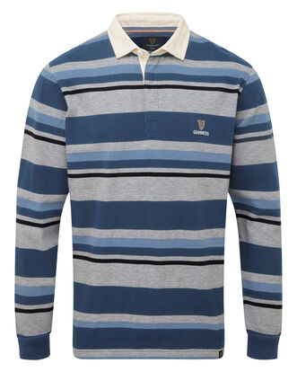 Guinness Long Sleeve Stripe Rugby Shirt