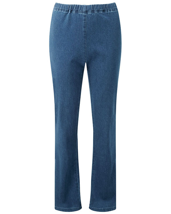 Pull-on Stretch Bootcut Pants
