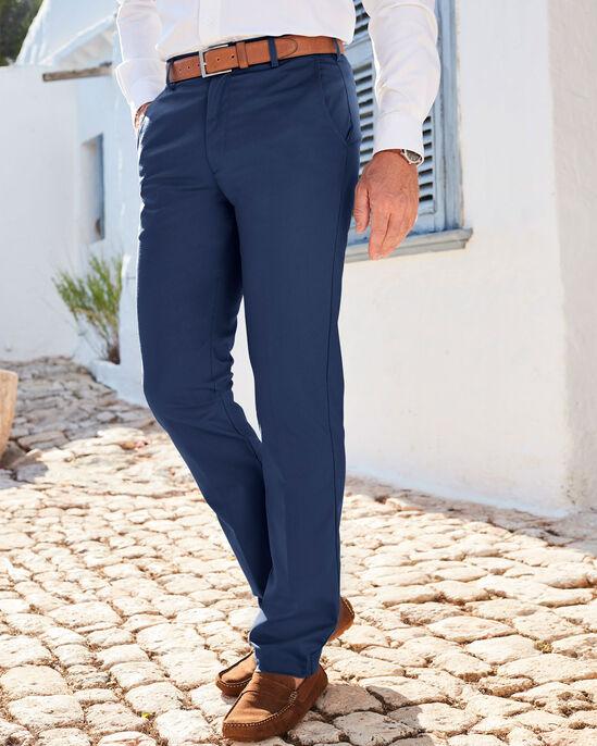 Flat Front 4-way Stretch Chino Pants