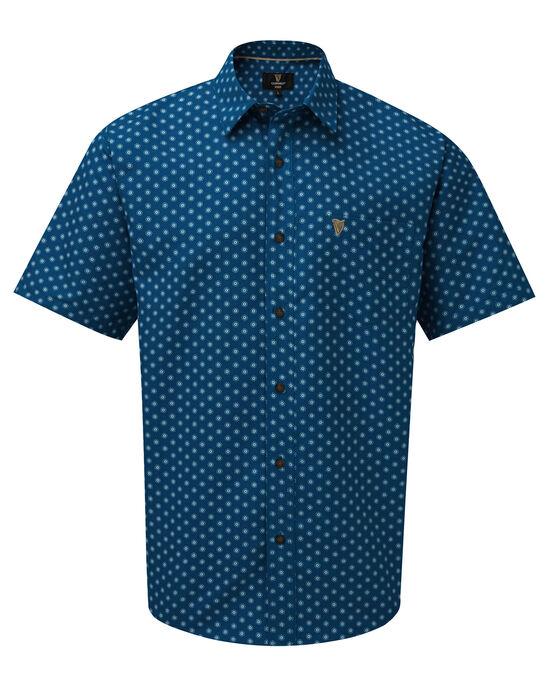 Guinness Short Sleeve Soft Touch Rose Geo Shirt