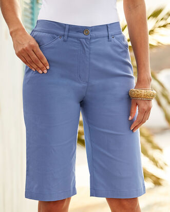 Dusky Lavender Chino Shorts