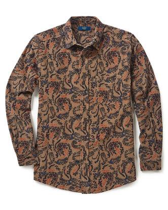 Floral Printed Cord Shirt