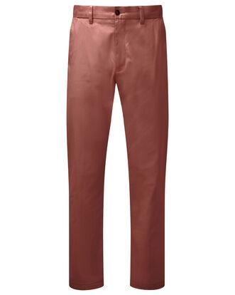 Flat Front Chino Pants