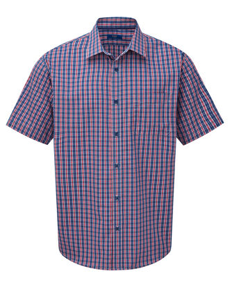 Short Sleeve Wrinkle Free Shirt