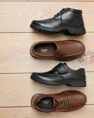 Classic Lace-up Boots