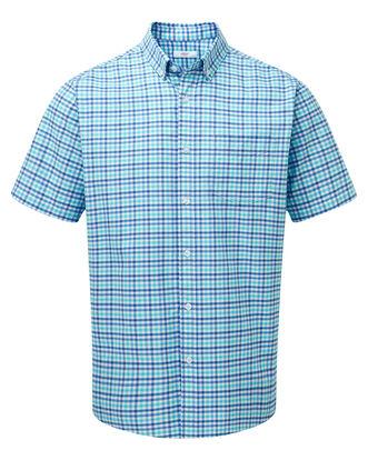 Mint Green Short Sleeve Classic Oxford Shirt