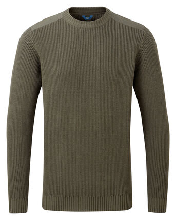 Fisherman's Crew Neck Sweater