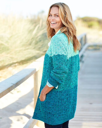 Ombre Knit Cardigan