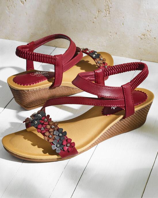 Flower Detail Sandals