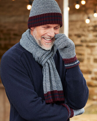 Thinsulate Hat, Glove and Scarf Set