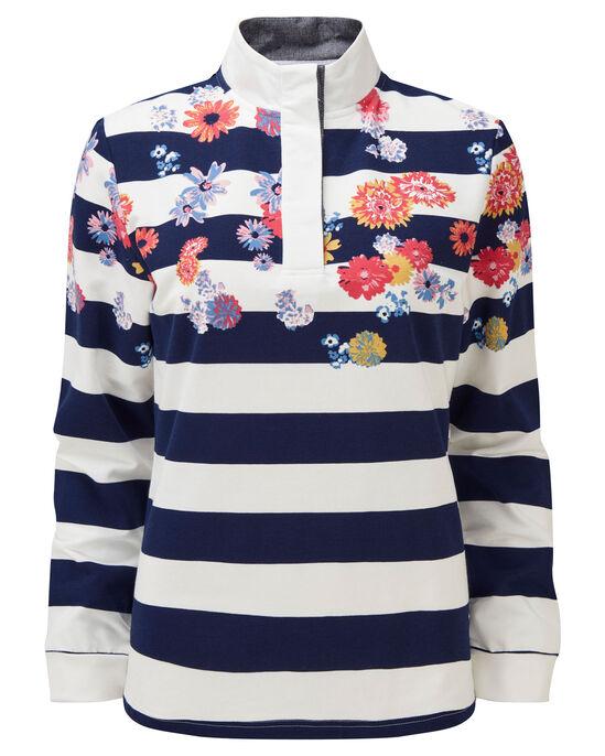 Printed Stripe Sweatshirt