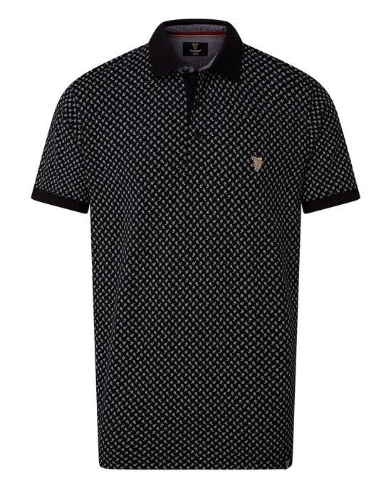 Guinness Print Polo Shirt