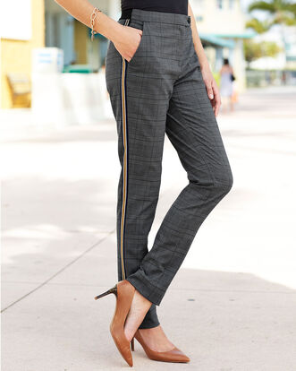 Elastic Back Waist Pants
