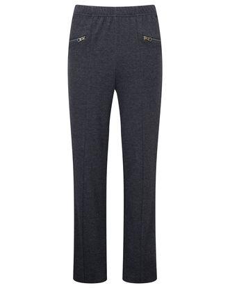 Jersey Tweed Tummy Control Pants