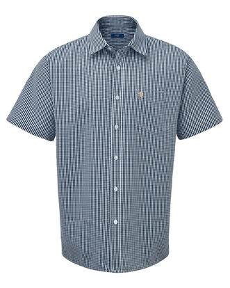 England Rose Short Sleeve Soft Touch Gingham Shirt