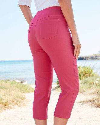 Super Stretchy Pull-on Crop Pants
