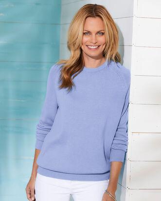 Women's Cotton Crew Neck Sweater
