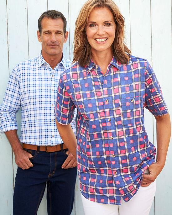 Short Sleeve Printed Jersey Shirt