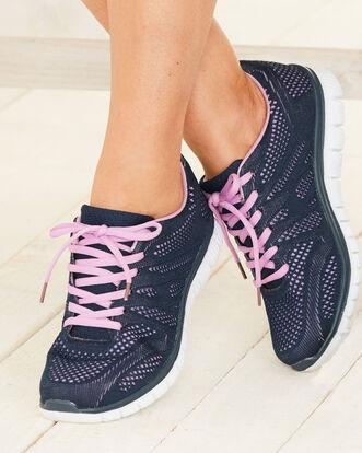Ladies Lightweight Flexi Comfort Sneakers