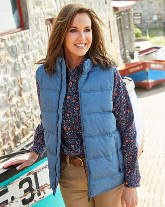 Gillside Showerproof Fleece Lined Vest
