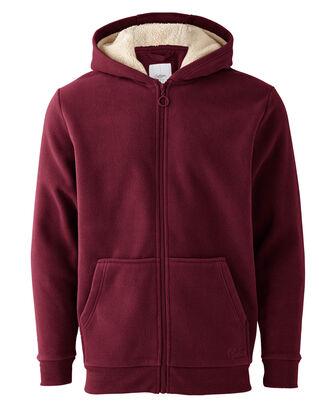 Luxury Fleece Hooded Jacket