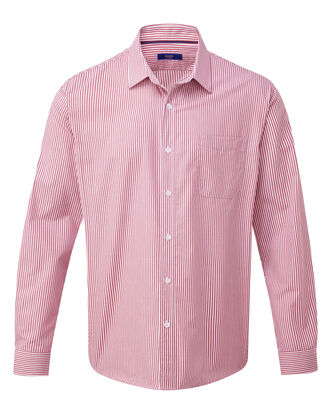 Currant Long Sleeve Wrinkle Free Shirt