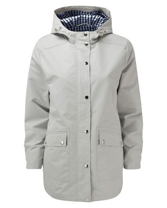 Showerproof Gingham Trim Jacket