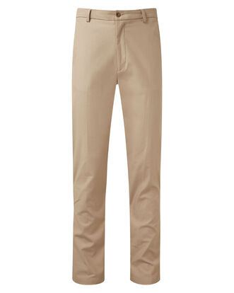 Flat Front 4-way Stretch Chino Pants