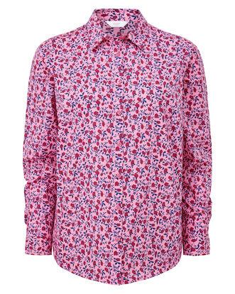 Pink Rose Wrinkle Free Long Sleeve Shirt