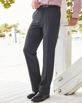 Pleat Front Supreme Easy Care Pants