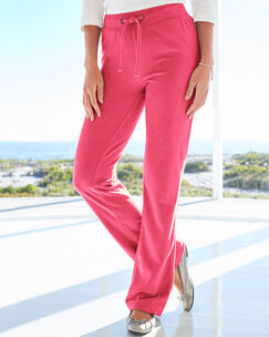 Velour Pull-on Pants