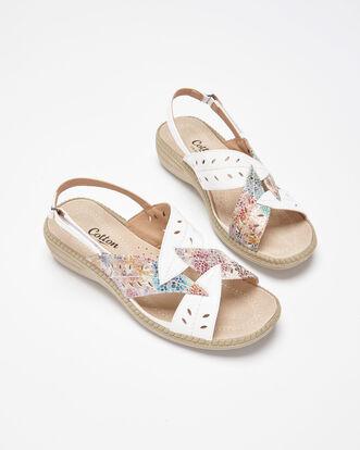 Flexi Leaf Sandals