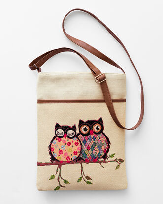 Embroidery Cross Body Bag