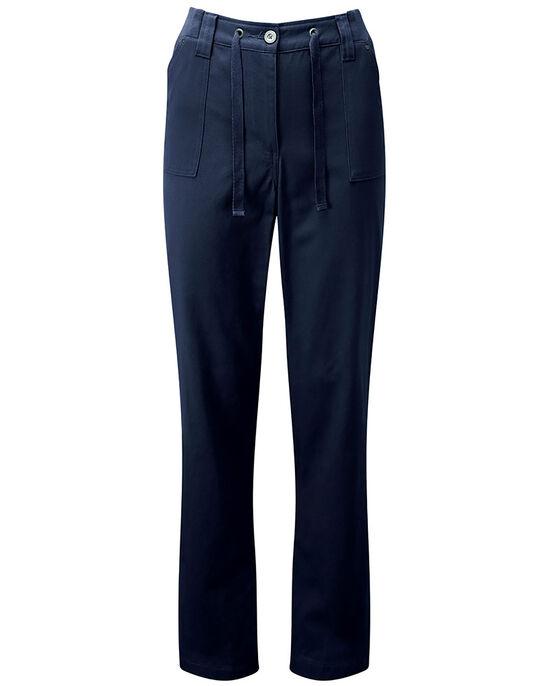 Wrinkle Free Tie Front Pants