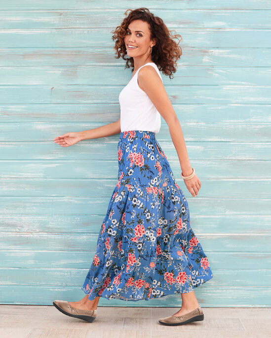 Bluebell Tiered Maxi Skirt