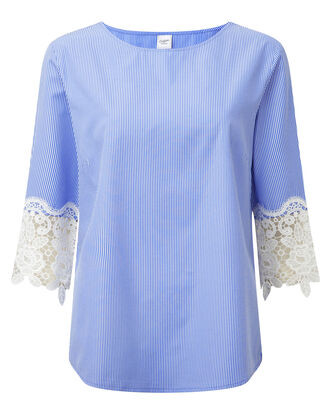 Lace Sleeve Top